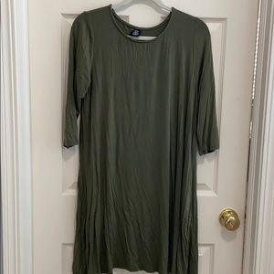Agnes & Dora 3/4 length sleeve swing tunic